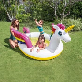 Intex 57441, дитячий надувний центр басейн Єдиноріг