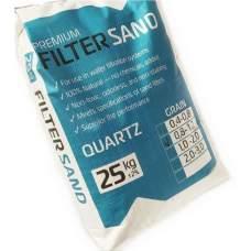 FilterSand 0-8-1-2-25, пісок кварцовий для фільтрів басейнів. Фракція 0.8-1.2 мм, 25 кг