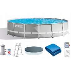 Intex 26724, каркасний басейн 457 x 107 см Prism Frame Pool