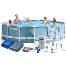Intex 26726, каркасний басейн 457 x 122 см Prism Frame Pool