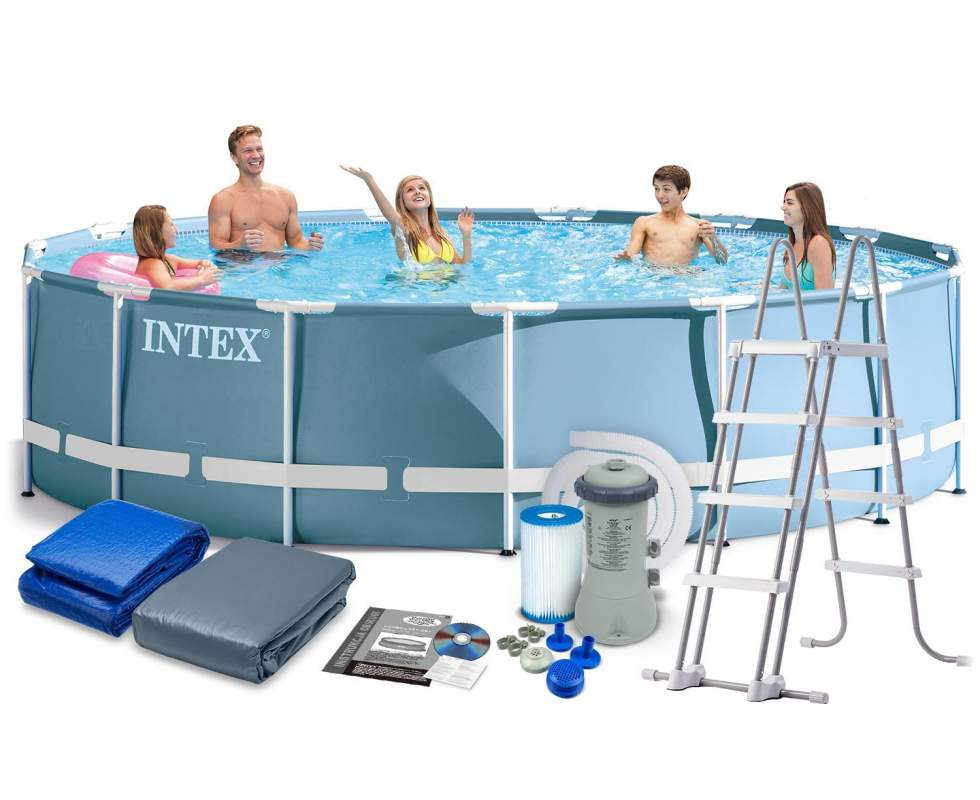 Каркасный бассейн Intex. Отзывы клиентов.