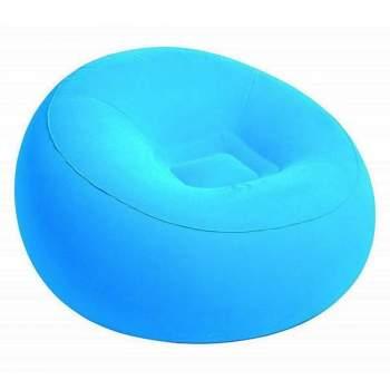 Bestway 75052-blue, надувне крісло 112 x 66 см, блакитне