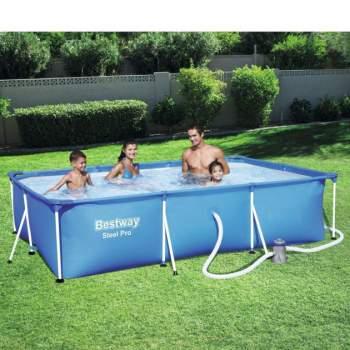 Bestway 56411, каркасный бассейн 300 x 201 x 66 см Steel Pro