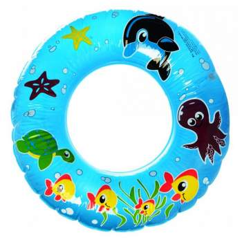 Suarch ts-1239-60-fish, надувной круг, 60см. Синий