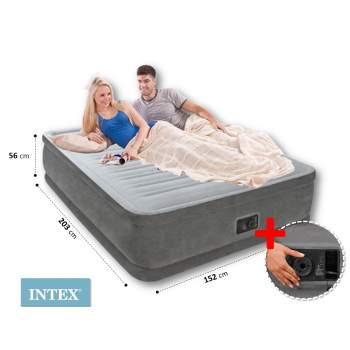 Intex 64418, надувне ліжко 203 x 152 x 56 см