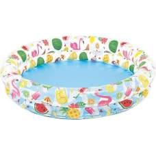 Intex 59421, надувний дитячий басейн Морські зірки