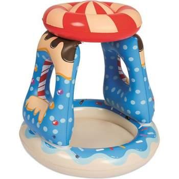 "Bestway 52270, надувний дитячий басейн"" цукерка "" 91х91х89 см"