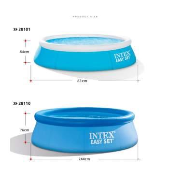 Intex 28110, надувний басейн Easy Set