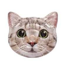 Intex 58784, надувний пліт Голова кішки, 147x135 см