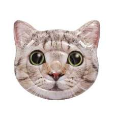 Intex 58784, надувной плотик Голова кошки, 147x135 см