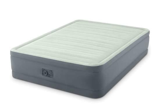 Intex 64906, надувная кровать 203 x 152 x 46 см