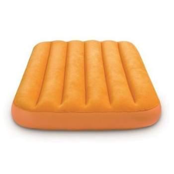 Intex 66803-orange, надувний матрац 157 x 88 x 18 см. помаранчевий