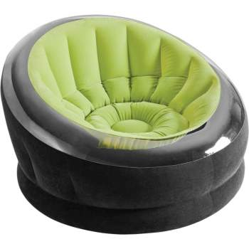 Intex 68581, надувное кресло 112 x 109 x 69 см, зеленое