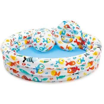Intex 59469, надувний дитячий басейн рибки