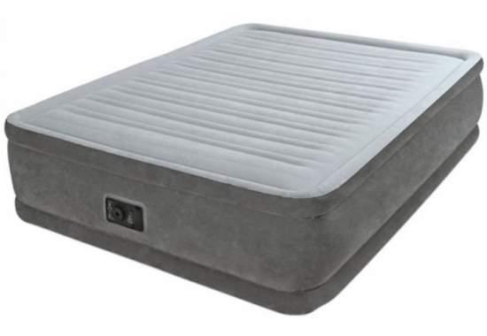 Intex 64414, надувне ліжко 203 x 152 x 46 см
