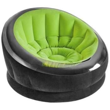 Intex 66581, надувне крісло 112 x 109 x 69 см, зелене