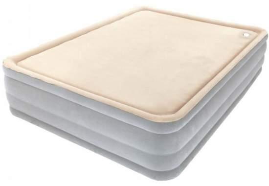Intex 67486, надувная кровать 203 x 152 x 46 см