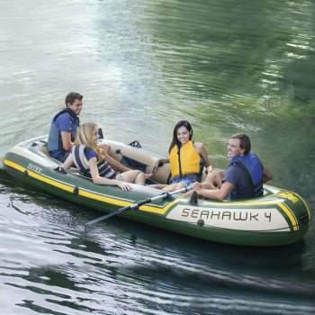 Intex 68351, надувная лодка Seahawk-400