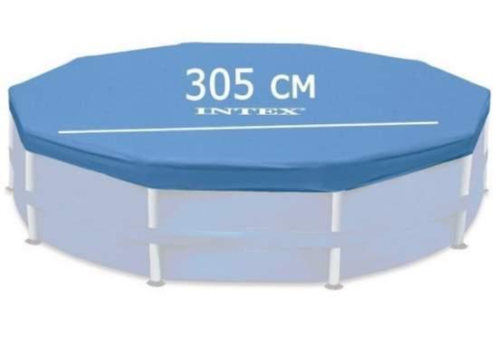 Intex 28030, тент для каркасного басейну, Д305см