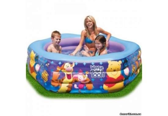 Intex 57494, надувной детский бассейн Винни пух