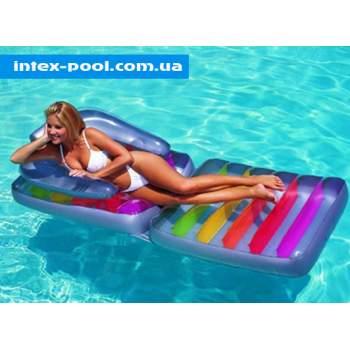 Intex 58870, надувне крісло-Матрац для плавання