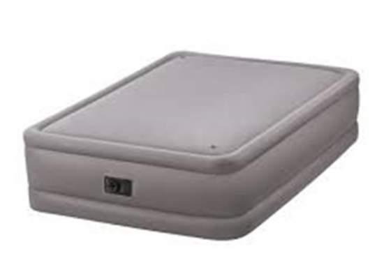 Intex 64468, надувне ліжко 203 x 152 x 51 см
