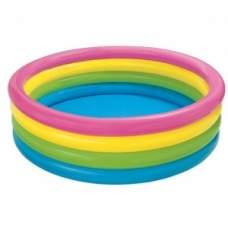 Intex 56441, надувной детский бассейн Пылающий закат