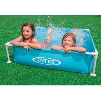 Intex 57173, каркасний дитячий басейн, 122х122х30см