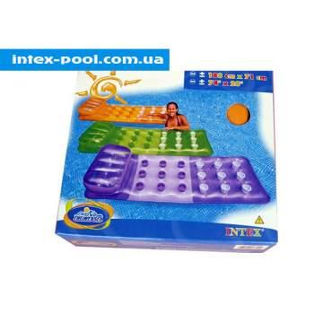 Intex 58890-F, надувной матрас для плавания