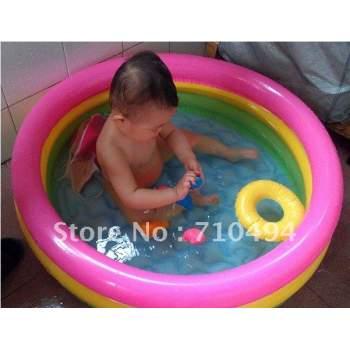 Intex 58924, надувний дитячий басейн Веселка