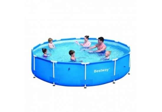 Bestway 56030, каркасный бассейн 366 x 76 см Steel Pro Frame Pool