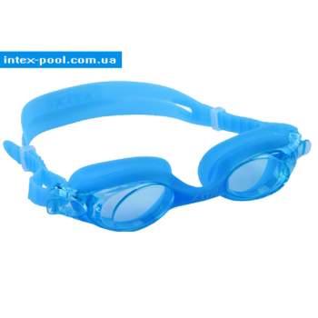 Intex 55693-G, детские очки для плавания, голубые