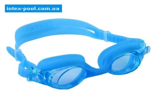 Intex 55693-G, дитячі окуляри для плавання, блакитНі
