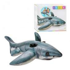 Intex 57525, надувной плотик Акула