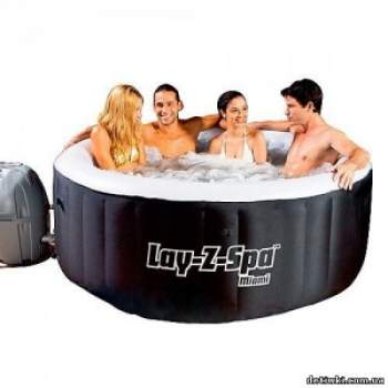 Bestway 54123, джакузі Lay-Z-Spa Miami Spa
