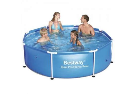 Bestway 56045, каркасный бассейн 244 x 61 см Steel Pro Frame Pool