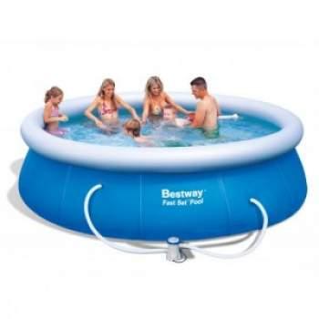 Bestway 57263, надувний басейн Fast Set