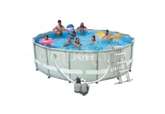 Intex 28336, каркасний басейн 549 x 132 см Ultra Frame Pool