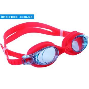 Intex 55693-K, детские очки для плавания, красные