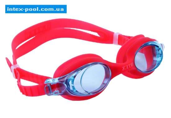 Intex 55693-K, дитячі окуляри для плавання, червоНі