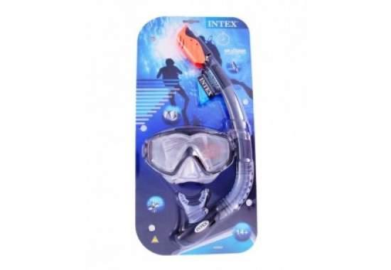 Intex 55962, набор для плавания, маска и трубка, от 14 лет