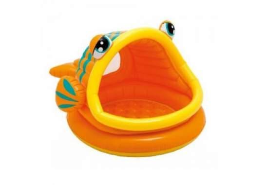"""Intex 57109, надувной детский бассейн """"Рыба"""""""