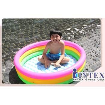 Intex 57412, надувний дитячий басейн Захід Сонця