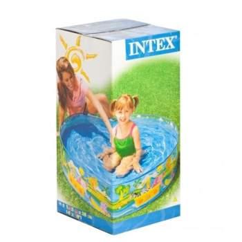 Intex 58474, каркасний дитячий басейн 122х25см