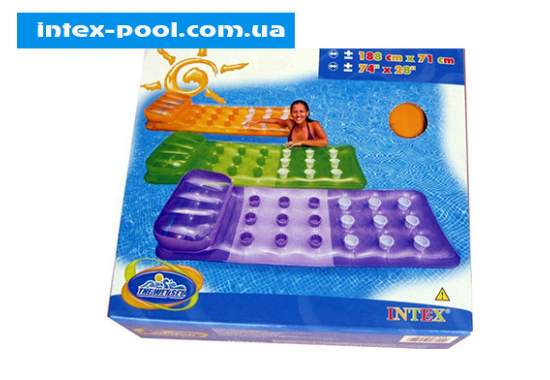 Intex 58890-Z, надувний матрац для плавання