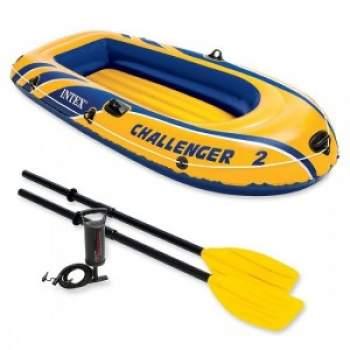 Intex 68367, надувная лодка CHALLENGER-2