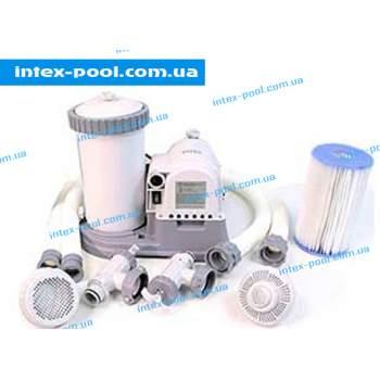 Intex 28634, насос-фильтр картриджный, 9463 л/ч