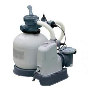 Intex 28680, песочный-насос хлоргенератор 8000 л/ч, 11 г/ч (26680)