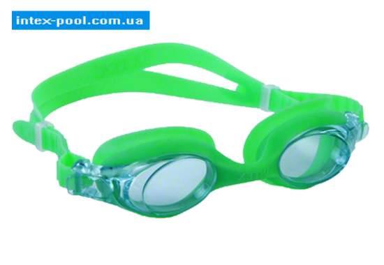 Intex 55693-Z, дитячі окуляри для плавання, зелеНі