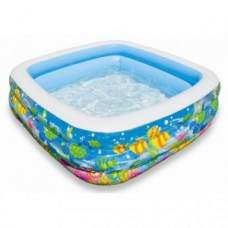 Intex 57471, надувний дитячий басейн Акваріум
